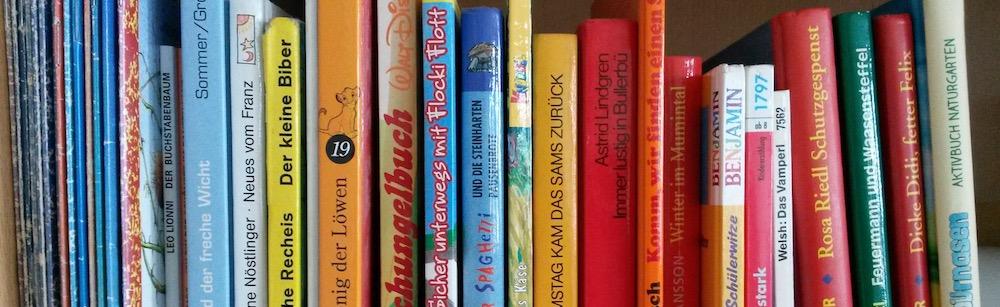 Bücher im Klassenzimmer