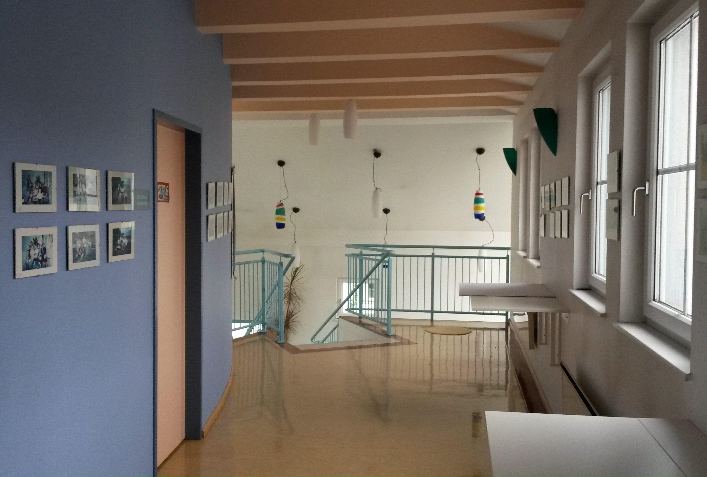 Flur im Gebäude