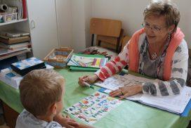 Schüler im Sprachunterricht